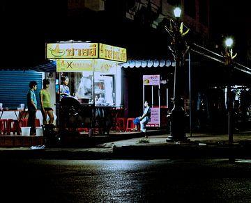 Thai Streetfood straatbeeld van Ipo Reinhold