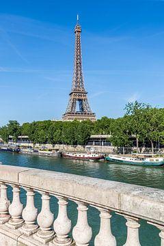 PARIS Eiffelturm & Seine von Melanie Viola