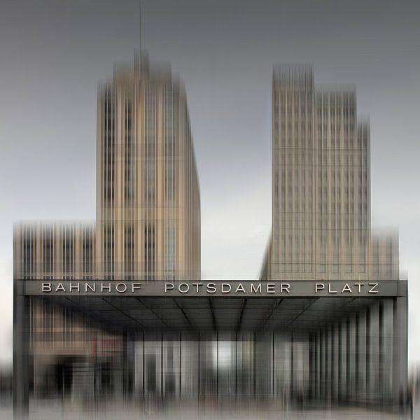 City-Shapes BERLIN Potsdamer Platz I van Melanie Viola