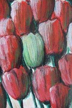"""""""Tulpis"""" im Flow von Susanne A. Pasquay"""