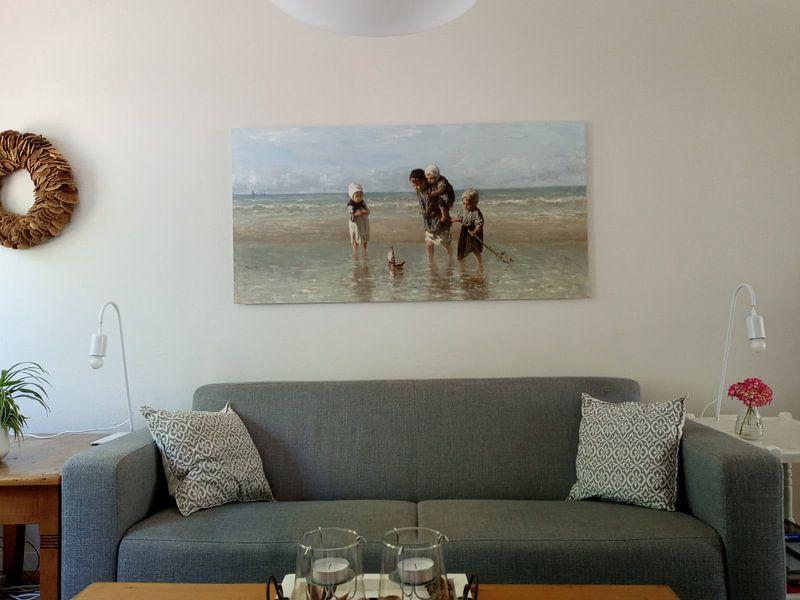 Kundenfoto: Kinder an der See (Jozef Israels), auf xpozer