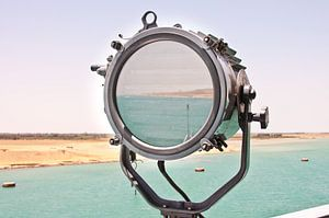 Suez Kanaal in Seinlamp <liggend>