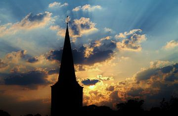 Silhouet with beautiful sky von Tamara Photography