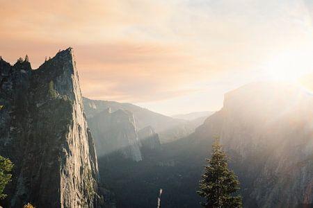 Zon over de bergen