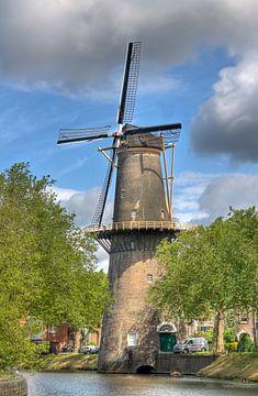 Molen in Schiedam van Jan Kranendonk