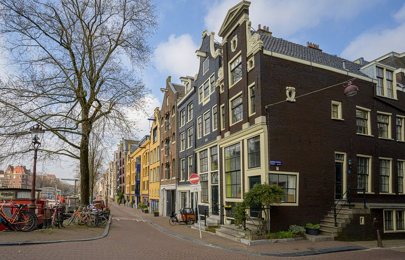 Brouwersgracht Amsterdam van Foto Amsterdam/ Peter Bartelings
