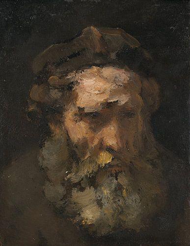 Hoofd van de Heilige Mattheus, Rembrandt