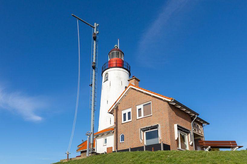 Le phare d'Urk sur Jan van Dasler