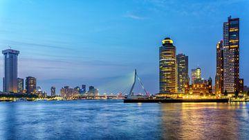 Pont Erasmus de Rotterdam sur Marcel Kieffer