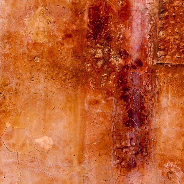 Abstract Wall 2 (Marokko) van Rob van der Pijll