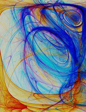 Composition abstraite 396 van Angel Estevez
