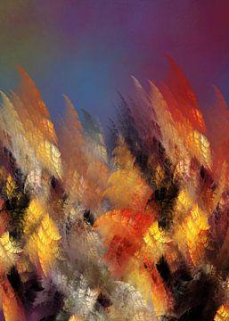 Fraktale abstrakte Kunst Wald #Fraktale #Abstrakt von JBJart Justyna Jaszke