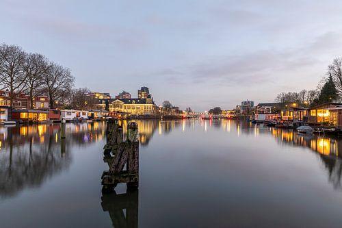 Muntsluizen, Muntgebouw Utrecht avondsfeer