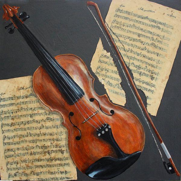 Viool van Andrea Meyer