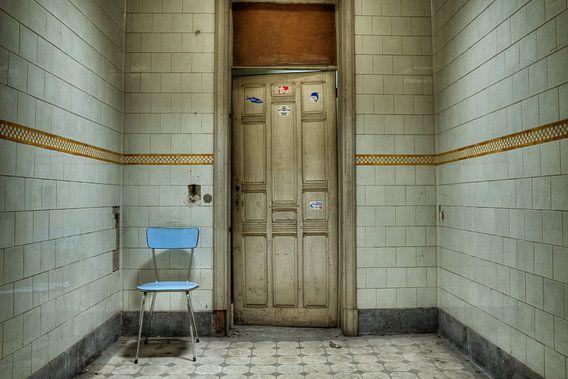 Urbex Eenzame stoel van Jack Tet