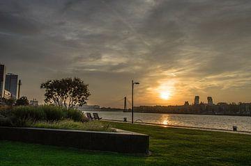 Rotterdam zonsopgang von Oguzhan Beyaztas