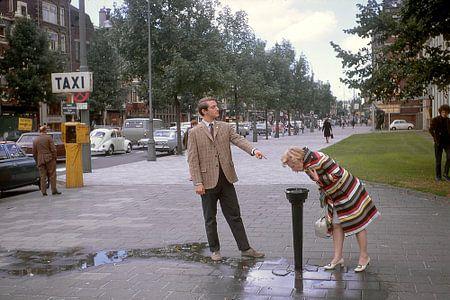 Vintage foto 1968 Amsterdam van Jaap Ros