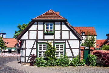 Historisches Gebäude im Ostseebad Warnemünde von Rico Ködder