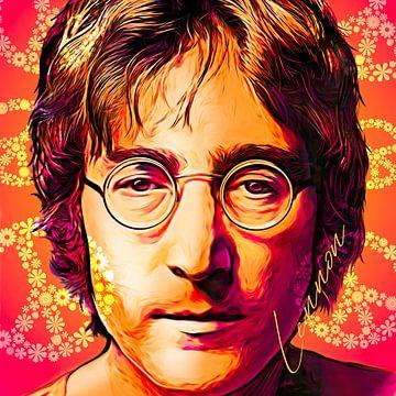 Pop Art John Lennon von Martin Melis