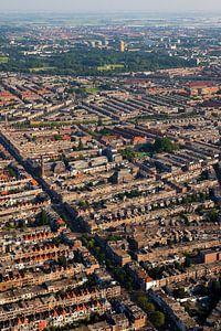 Luchtfoto Valkenboskwartier en Oostbroek-Noord Den Haag