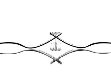 Drie vorken van Greetje van Son