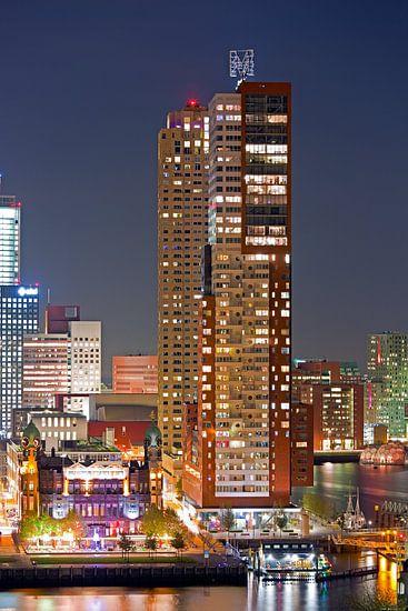 Montevideo en hotel New York te Rotterdam van Anton de Zeeuw