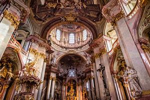 Sint-Nicolaaskerk Praag van