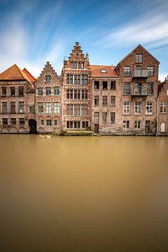 Oude grachtenpanden Gent