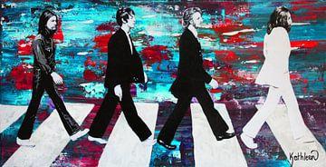 Die Beatles von Kathleen Artist Fine Art