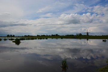 Holland waterland van Maurice Kruk
