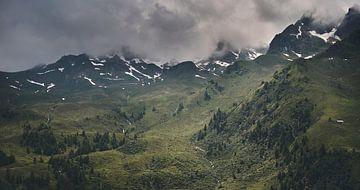 Alpenansicht 1 von Bart Rondeel