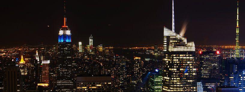 Manhattan @ Night sur Michiel Heuveling