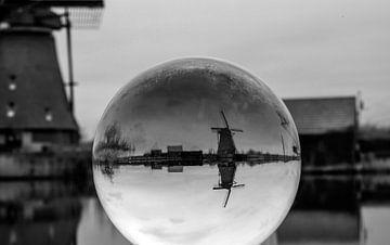 Kinderdijk glazen bol van Twan van G.