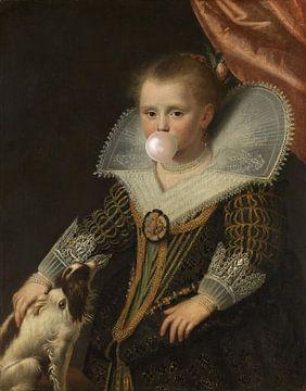 La princesse au bubblegum sur Rudy en Gisela Schlechter