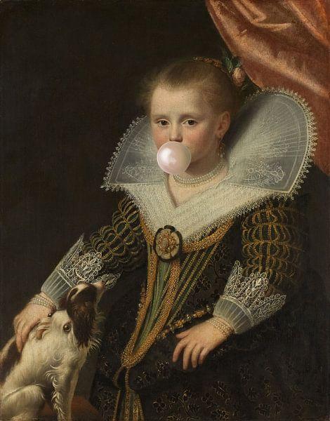 Het prinsesje met bubblegum van Rudy en Gisela Schlechter