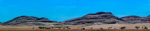 Panorama van Damaraland in Namibië