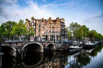 Aan de Amsterdamse grachten van Michael Ter horst