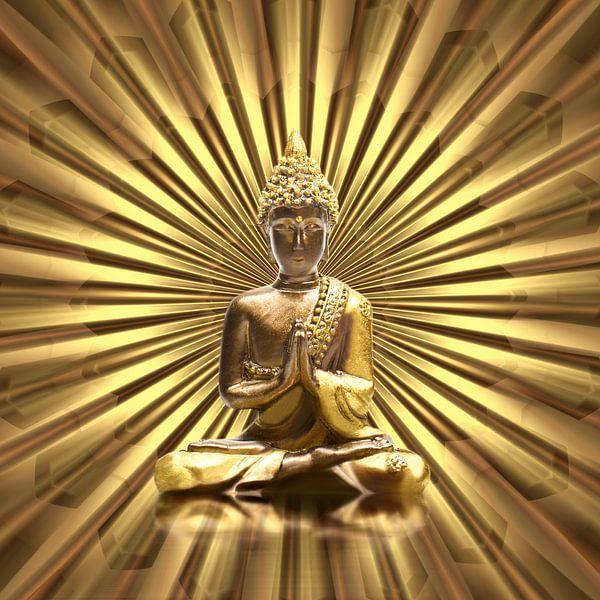 Buddha van Violetta Honkisz