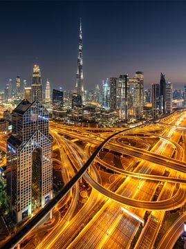Skyline de Dubaï sur Achim Thomae