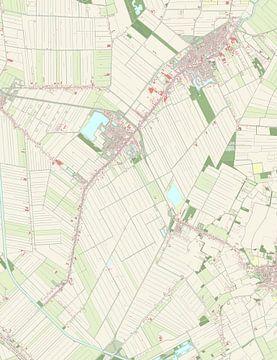 Kaart vanPekela