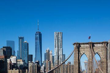 Oud en nieuw Manhattan van Peter Leenen