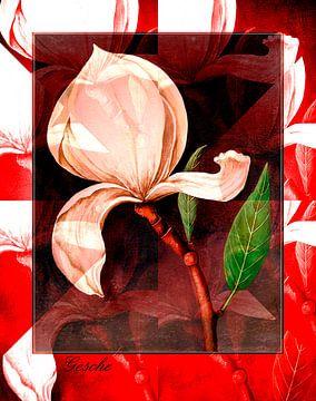 Floral Abstrakt von Gertrud Scheffler