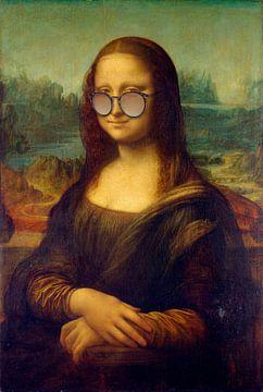 Mona Lisa mit Sonnenbrille