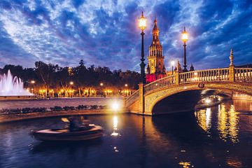 Sevilla – Plaza de España von Alexander Voss