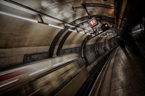 Londen - Underground -  sur
