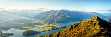 Roy's Peak Girl Neuseeland von Remco van Adrichem