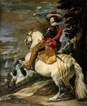 Don Gaspar de Guzmán, Juan Bautista Martínez del Mazo, Diego Velázquez