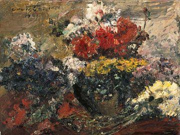 Lovis Corinth~Auto-Blumen
