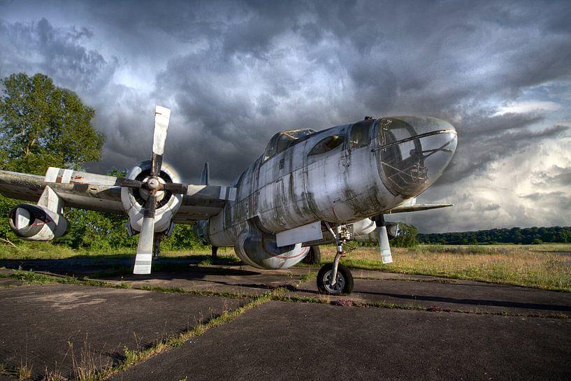 Verlaten Airplane van Frans Nijland