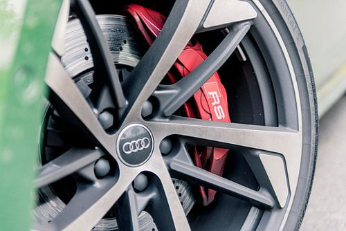 Audi RS5 van Sytse Dijkstra